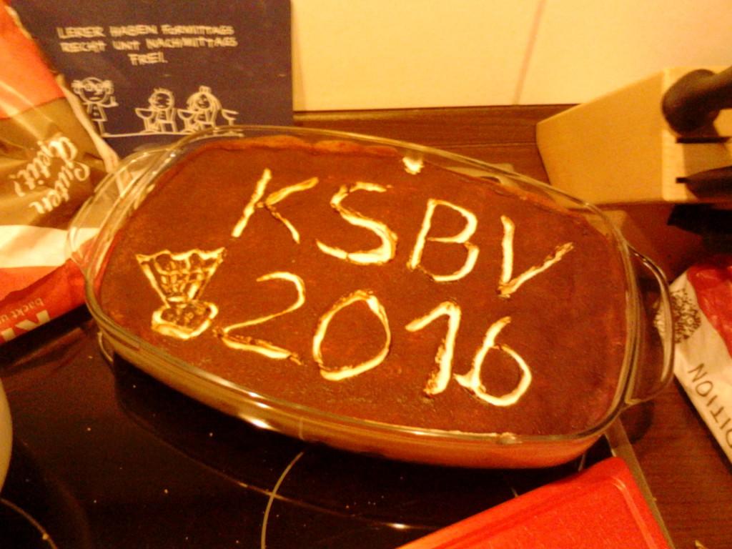 Suesser Start ins neue KSBV-Jahr