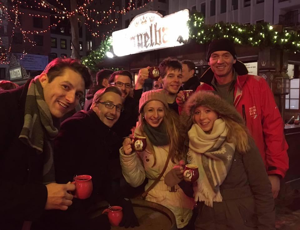 KSBV-Marathon - auf dem Weihnachtsmarkt